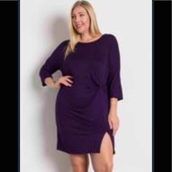 Dresses & Skirts - Brand new! Plum dress